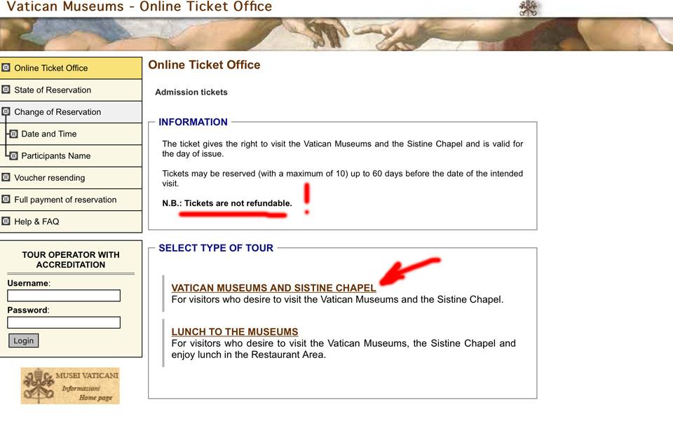 Cum cumperi bilete la Vatican