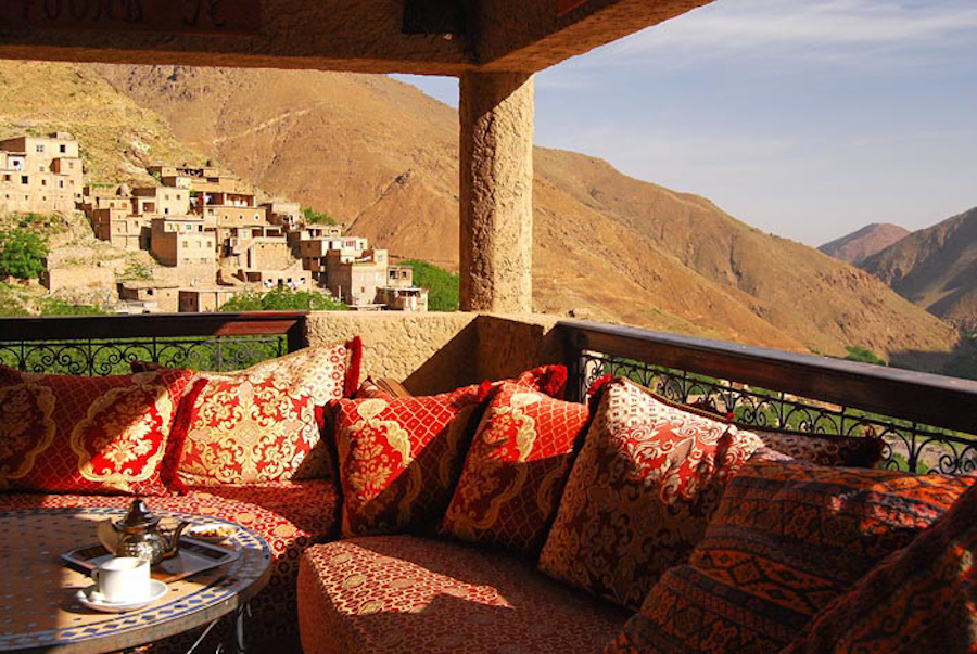 Kasbah sau castelul marocan