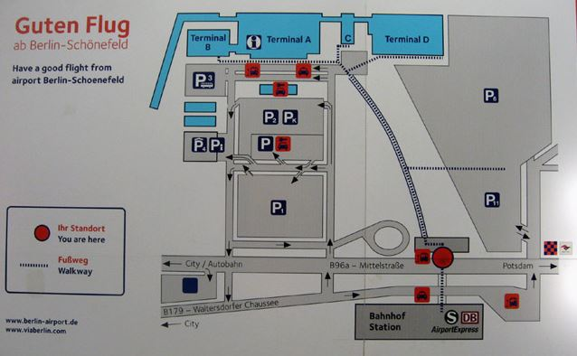 schema aeroport