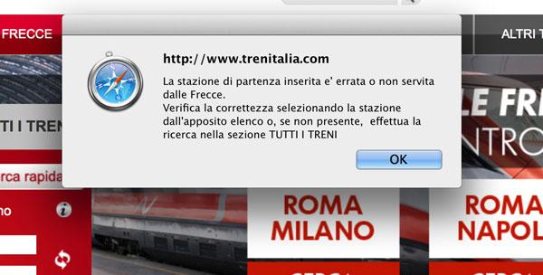 Bilete tren Italia