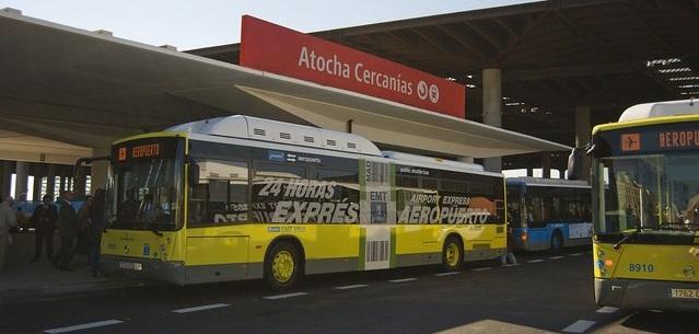 autobuz Madrid