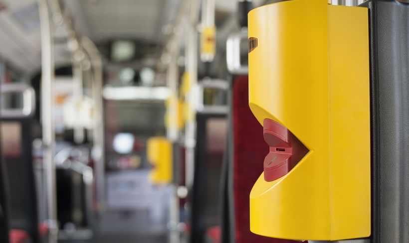 Validator in autobuzele din Innsbruk
