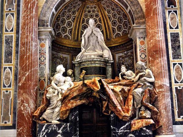 Mormântul lui Alexandru al VII-lea din familia Chigi