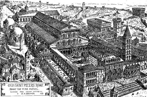 Bazilica lui Constantin (sec. XV)