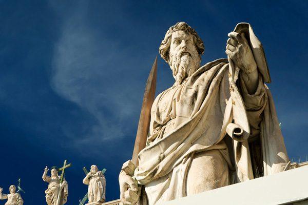 Statuia Sf. Pavel