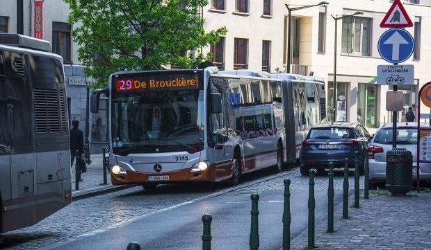 Autobuze al transportului public din Bruxelles