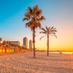 Plaja din Barcelona