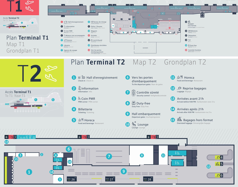 Aeroportul Charleroi Brussels, Terminal