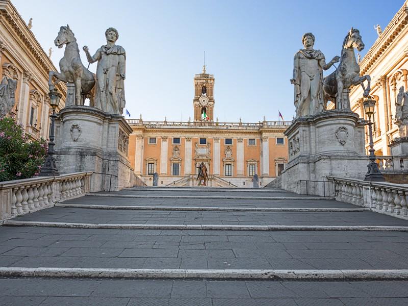 Scara spre Capitoliu