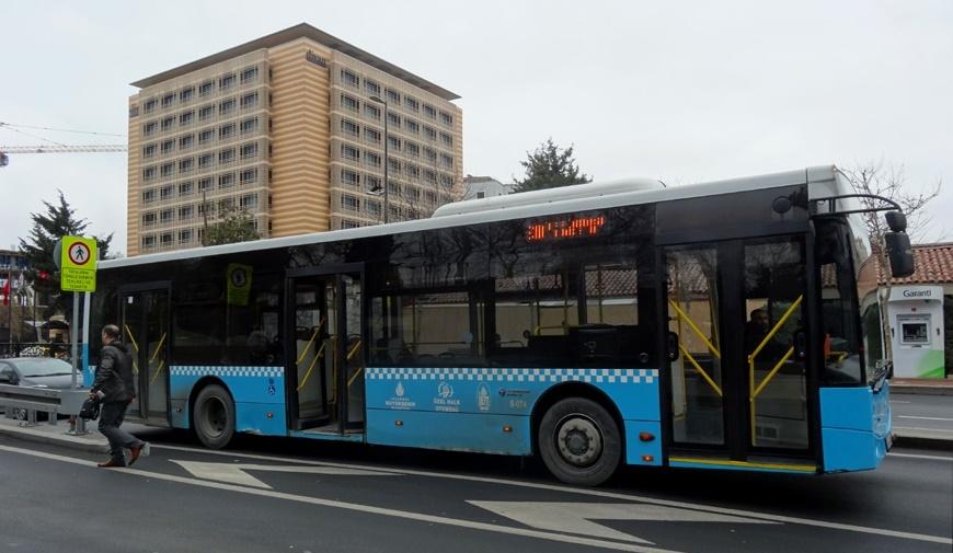 Autobuz in Istambul
