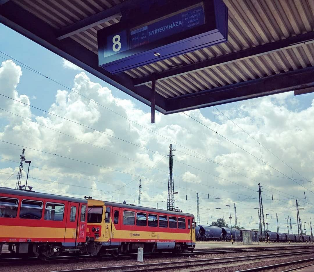 Gara din Debrecen de unde puteți ajunge la Budapesta