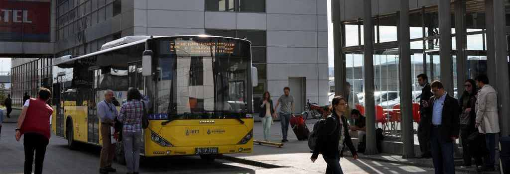 Autobuzul la aeroportul Sabiha Gokcen