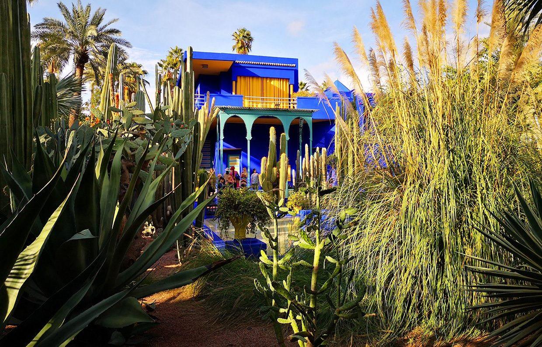 Gradina din Majorelle din Marrakech