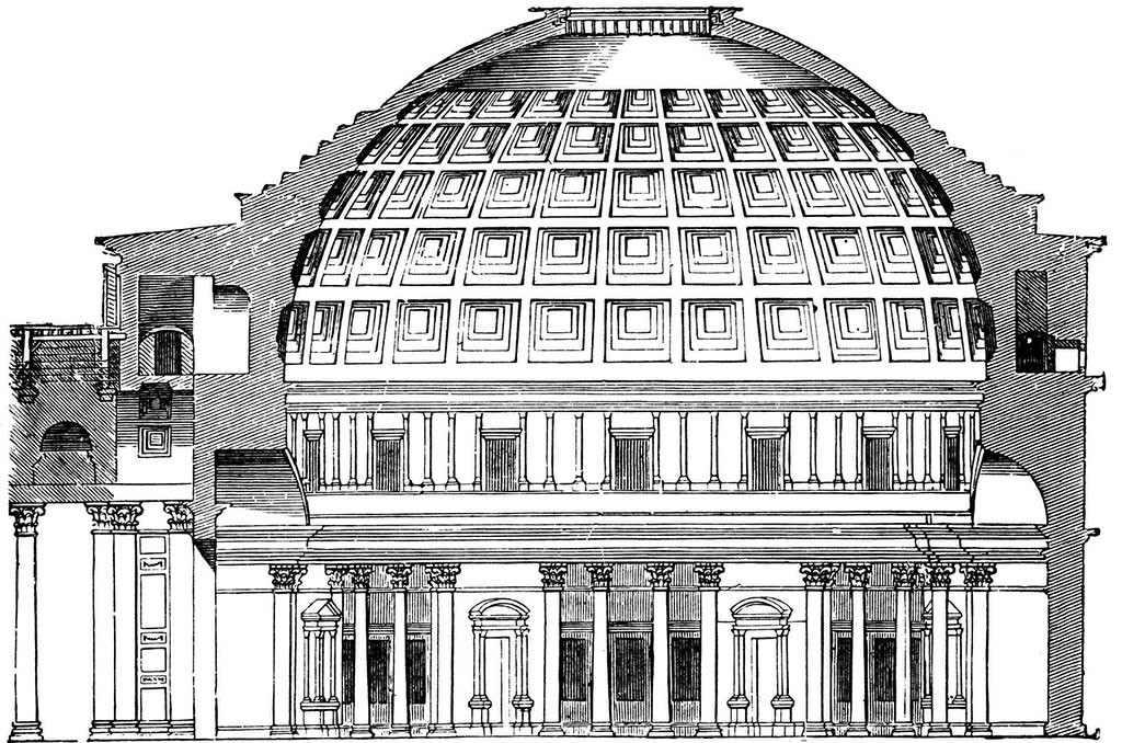 Panteon în Secțiune