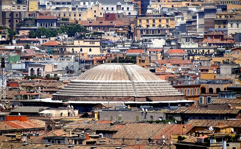 Acoperișul Panteonului