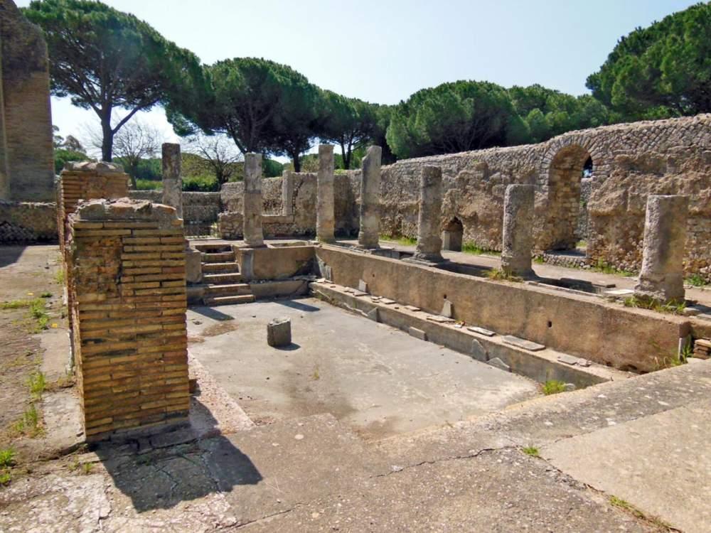 Terme Taurine - unul dintre cele mai vechi obiective turistice din Civitavecchia
