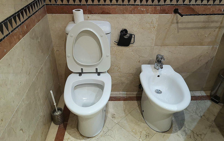 Toaletă în Maroc
