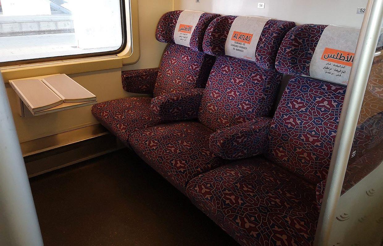 Trenul din Maroc