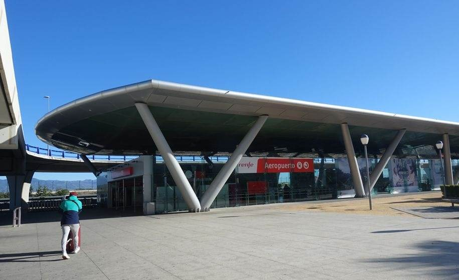 Gara de tren de la aeroportul Malaga