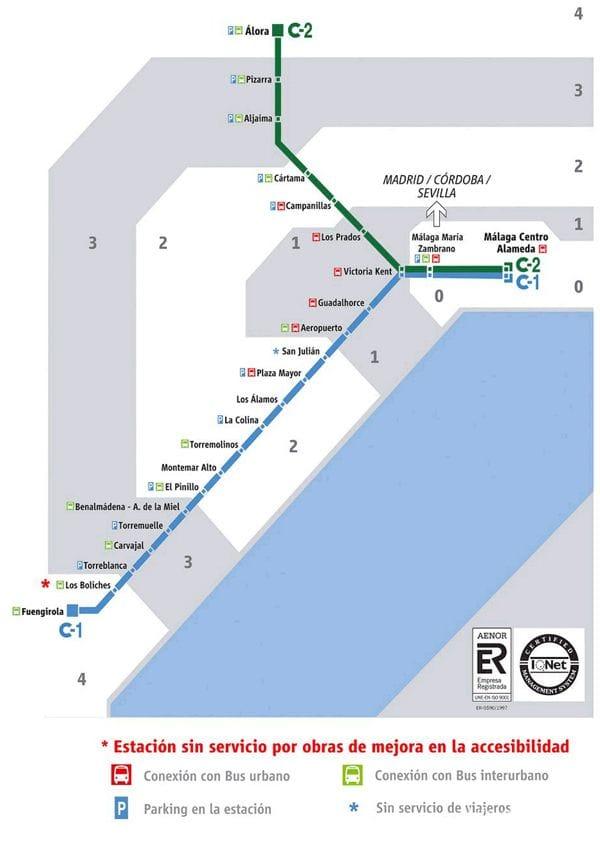 Harta circulație trenuri