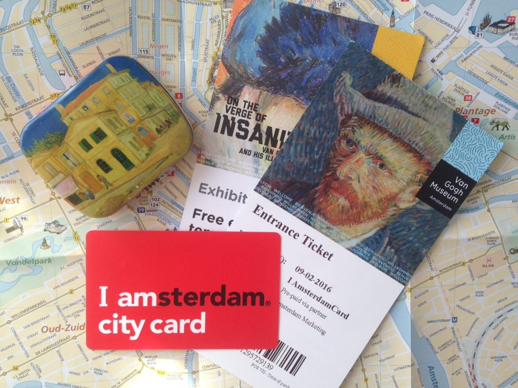 Muzeul Van Gogh și cardurile turistice