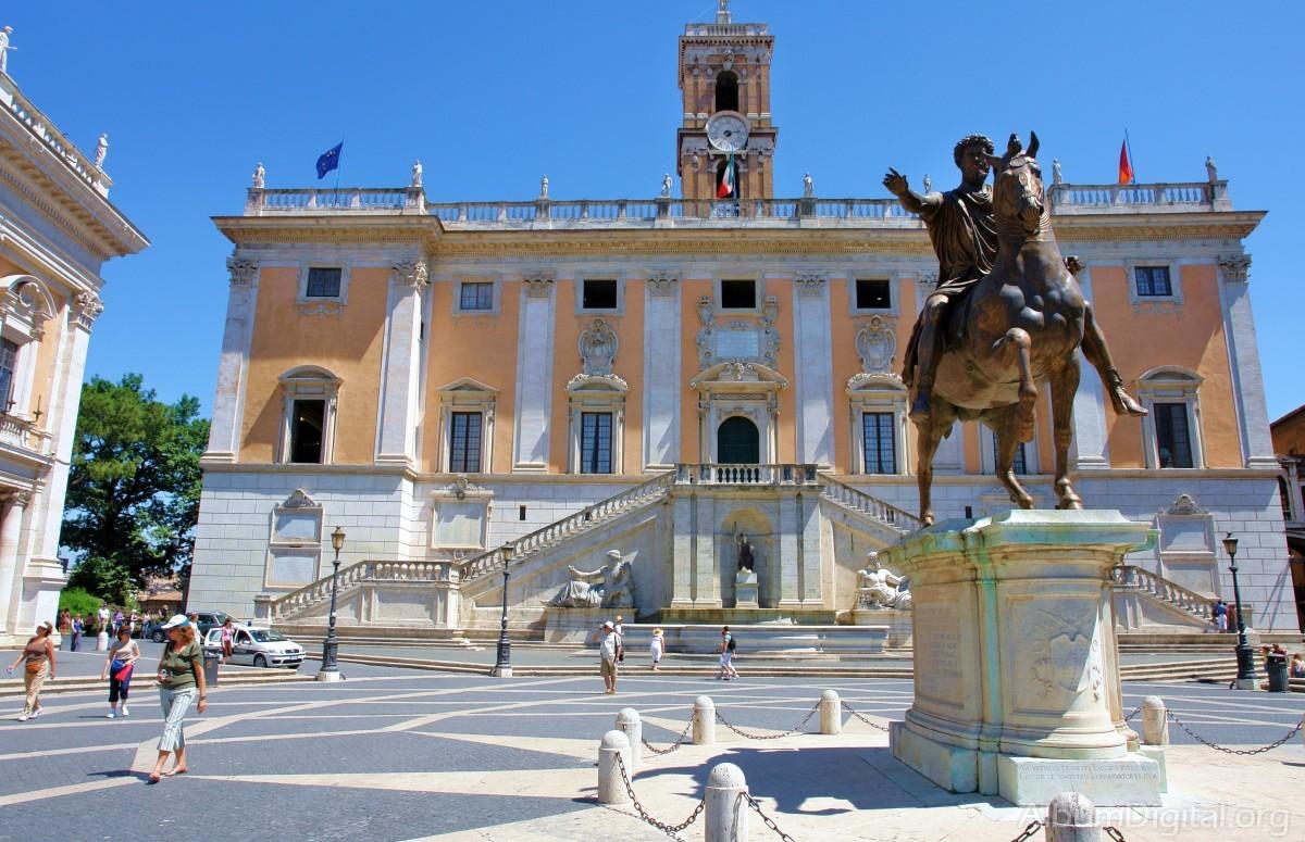 Palatul senatorilor (Palazzo Senatorio)