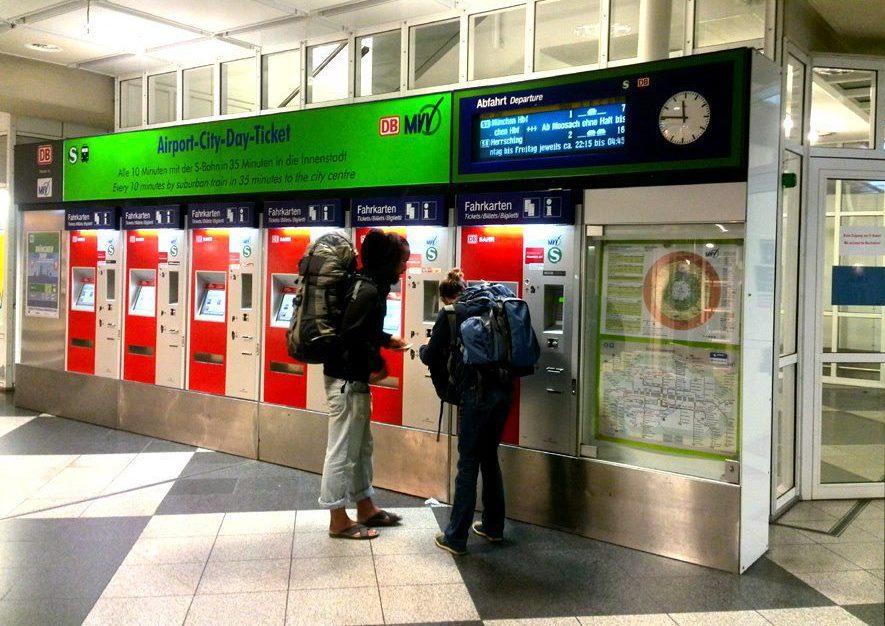 Bilete pentru trenul de la aeroportul din Frankfurt am Main