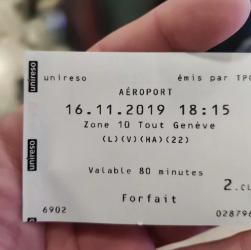 Bilet gratuit spre Geneva