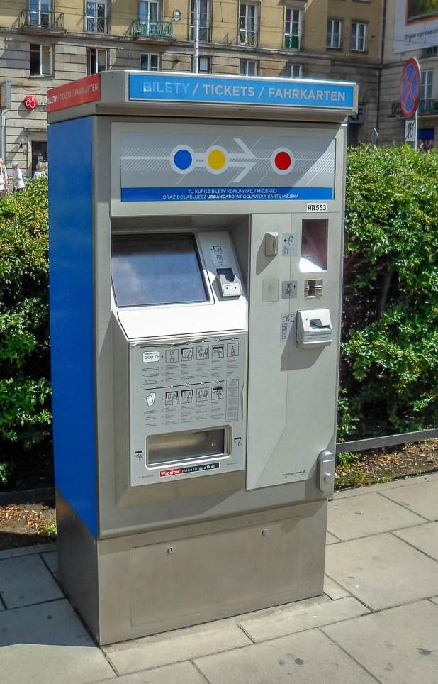 Distribuitor automat de bilete