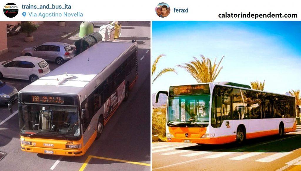 Autobuzele Napoli