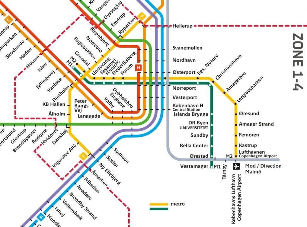 Zona de valabilitate al biletelor CityPass